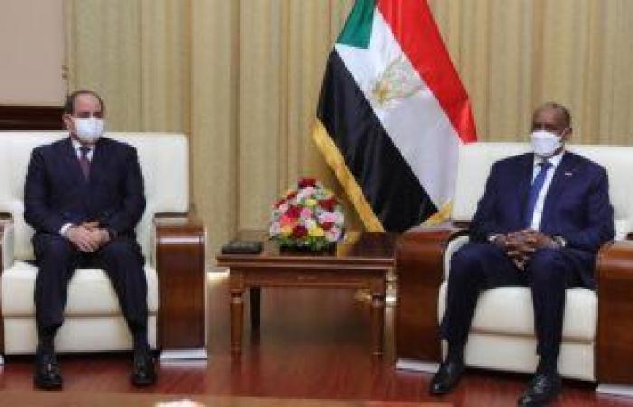البرهان يشكر الرئيس السيسى على المساهمة في رفع اسم السودان من قائمة الدول الراعية للإرهاب