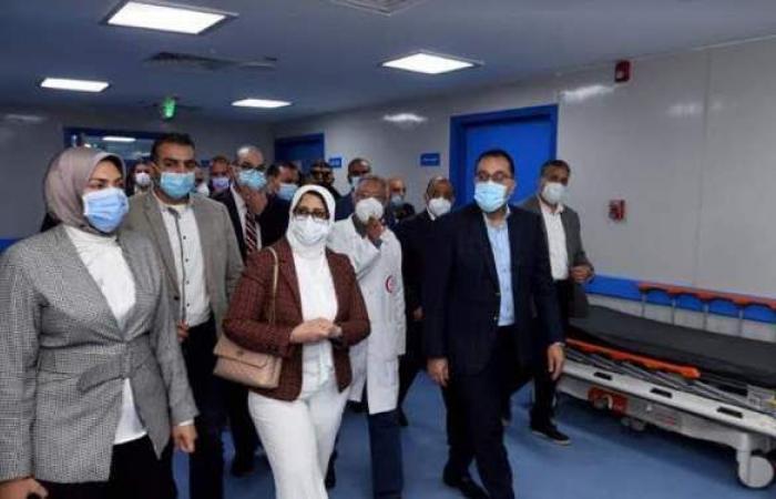 مدبولي يتفقد أعمال إنشاء مبنى الطوارئ والجراحات الجديد بمستشفى شبين الكوم التعليمي