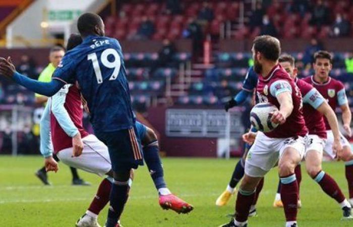 تعادل 1-1 .. آرسنال يتعثر أمام بيرنلي في الدوري الإنجليزي