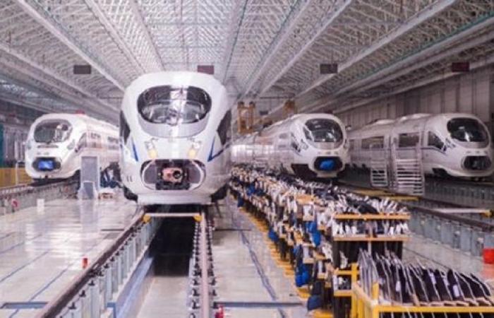 نمو الشحن في الصين عبر السكك الحديد 4% خلال 2020