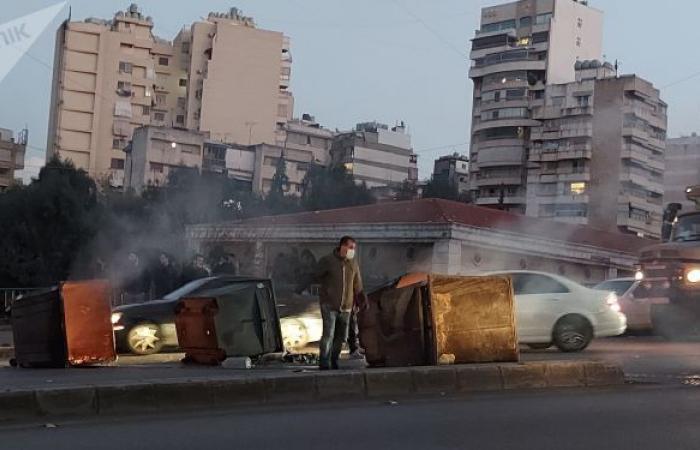 حادثة دهس متعمدة لمحتجين في بيروت