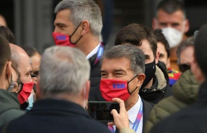 عاجل- لابورتا يحسم معركة الإنتخابات ويتوج رئيسًا لبرشلونة