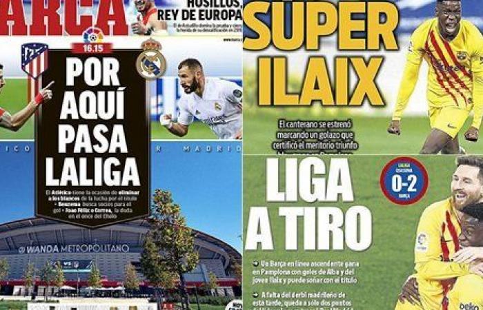 الليجا في الملعب.. ديربي مدريد في عيون الصحف الإسبانية