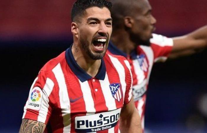 سواريز يتقدم لـ أتلتيكو مدريد على الريال في الدوري الإسباني