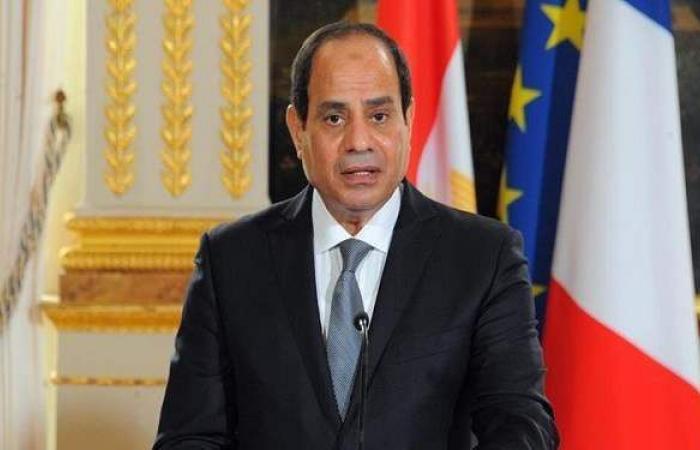 السيسي: نسعي لتغير حياة المصريين للأفضل من خلال مبادرة حياة كريمة