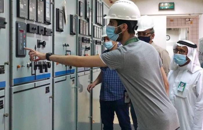 بالصور.. شؤون الحرمين تنفذ تجربة للتأكد من جاهزية كهرباء المسجد الحرام