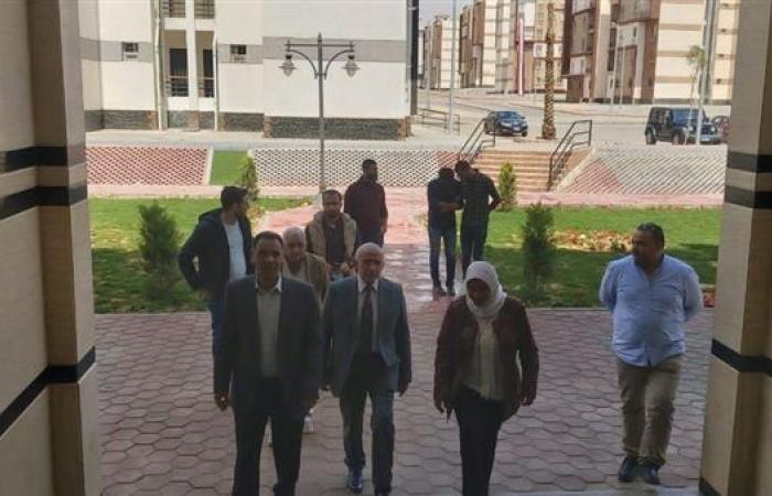 مسئولي منظومة الشكاوى الحكومية يتفقدون مدينة بدر