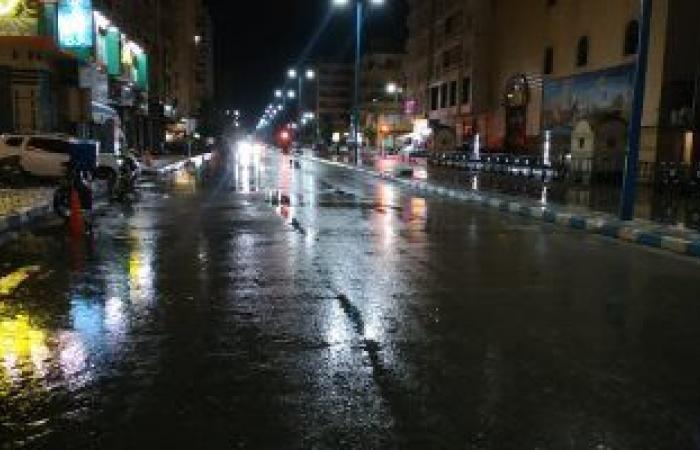 """""""مضاعفة مسافة الأمان"""".. اعرف ارشادات المرور بعد توقعات الأرصاد بسقوط أمطار"""