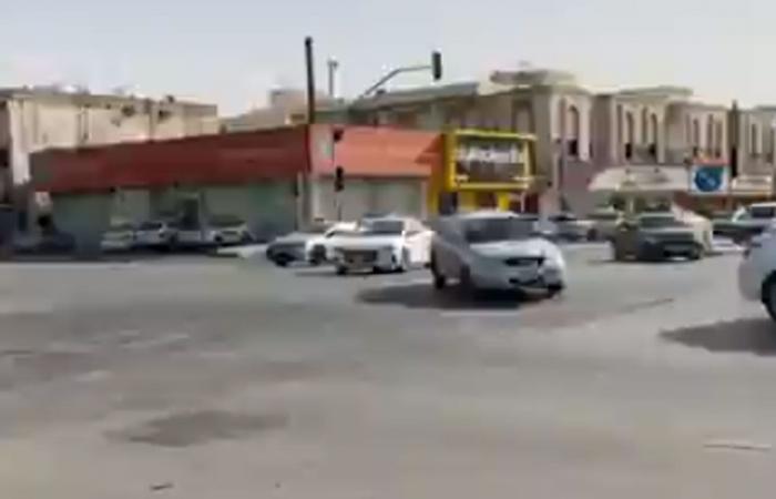 بالفيديو.. هبوط أرضي بأحد أحياء جنوب الرياض.. وأمانة المنطقة تتفاعل