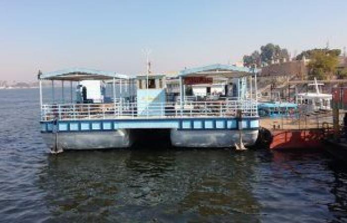 إنقاذ ركاب عبارة فى نهر النيل بسوهاج بعد عطل مفاجئ لأحد المحركات