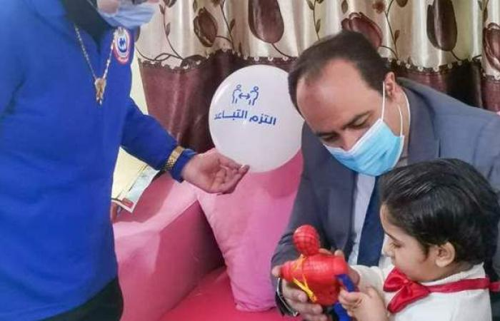 الصحة: تقديم الخدمات الطبية ورفع الوعي الصحي لـ ١٥٥٠ طفلا في ٦٦ دار أيتام
