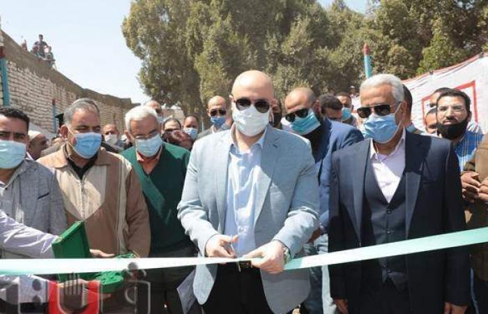 افتتاح مشروعات صرف صحي في بني سويف بتكلفة 60 مليون جنيه