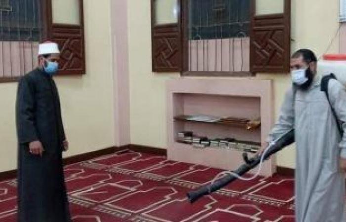 الأوقاف تطلق حملة مكبرة لتعقيم المساجد استعدادا لشهر رمضان الأربعاء المقبل