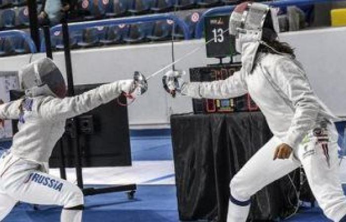 ريناد عادل تودع منافسات الناشئات ببطولة العالم للسلاح من دور الـ32