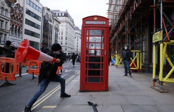 اعتقال أكثر من 100 متظاهر في لندن بسبب مشروع قانون جديد
