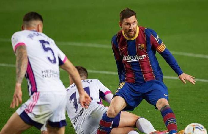 بهدف قاتل.. برشلونة يخطف الفوز من بلد الوليد في الليجا
