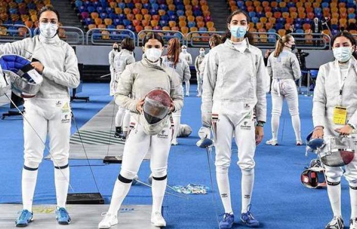 منتخب الشابات لسلاح السيف يحرز المركز 12 ببطولة العالم