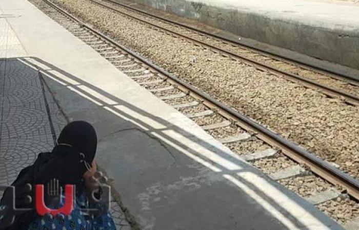 سقطت بين القطار والرصيف.. فتاة تنجو من الموت بالشرقية   فيديو وصور