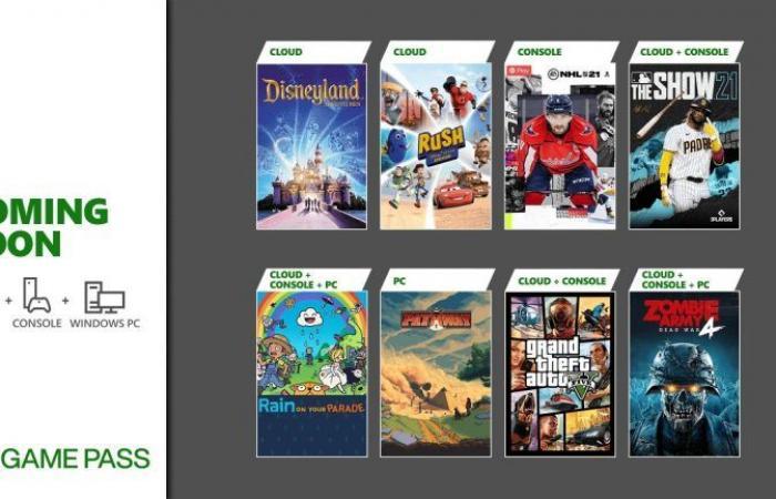 ألعاب Grand Theft Auto 5 و Zombie Army 4: Dead War والمزيد في طريقهم إلى خدمة Xbox Game Pass