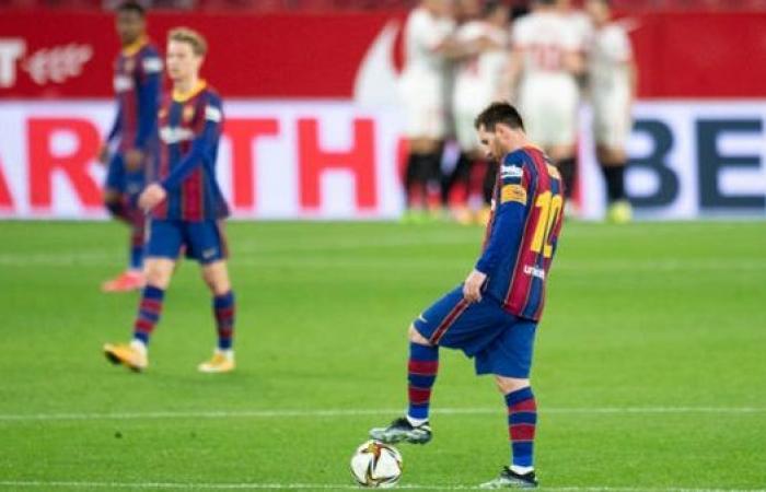 حكم مباراة برشلونة وبلد الوليد هدد ميسي بالغياب عن كلاسيكو الأرض