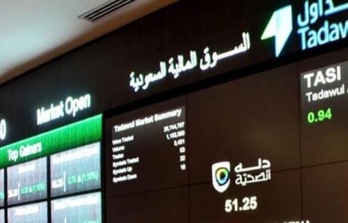 مؤشر سوق الأسهم السعودية يغلق مرتفعاً عند مستوى 9988 نقطة