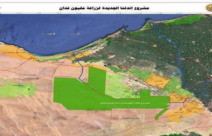 """السيسي يتفقد موسم الحصاد الزراعي بمشروع """"مستقبل مصر"""" في الصحراء الغربية"""