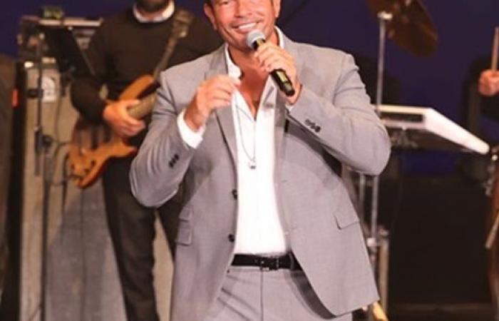 خاص.. عمرو دياب يستعد لحفل غنائي خاص في السفارة الفرنسية