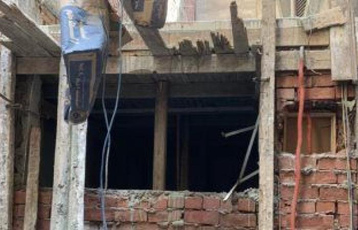 حى الدقى يشن حملة لضبط أعمال البناء المخالف فى شارع سليمان جوهر