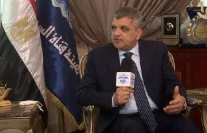 """رئيس هيئة قناة السويس: نستقبل غدا الكراكة """"مهاب مميش"""" الأكبر بالشرق الأوسط"""
