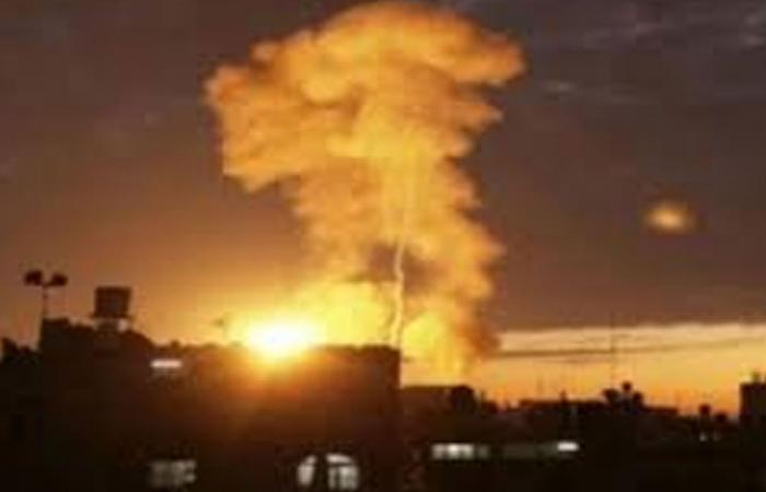 إعلان حصيلة ضحايا القصف الإسرائيلي لمحيط العاصمة السورية