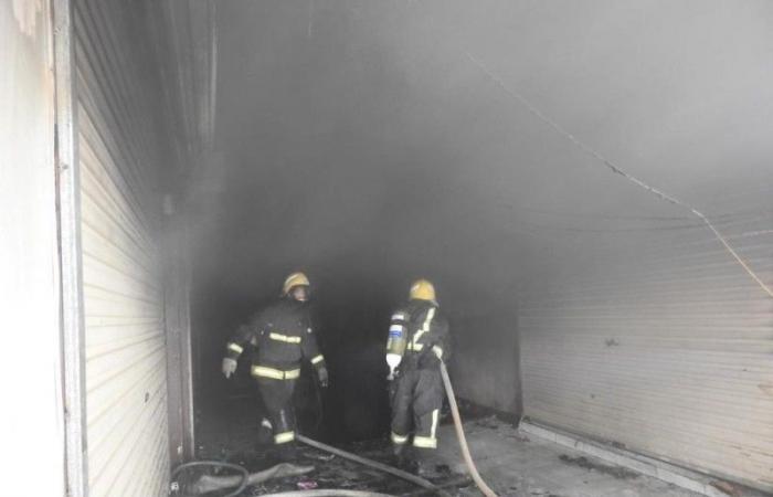 وفاة وإصابة 6 أشخاص في حريق بالرياض