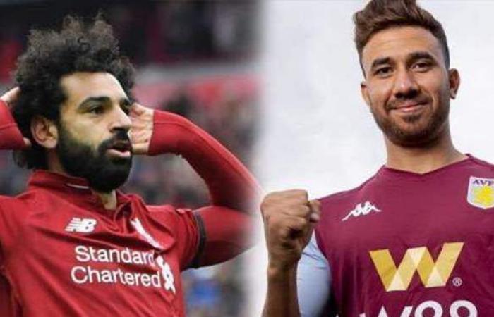 محمد صلاح يقود تشكيل ليفربول.. وتريزيجيه أساسي مع أستون فيلا