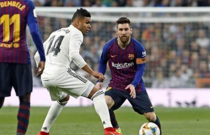 بنزيمة يقود هجوم ريال مدريد في الكلاسيكو.. وميسي مع برشلونة