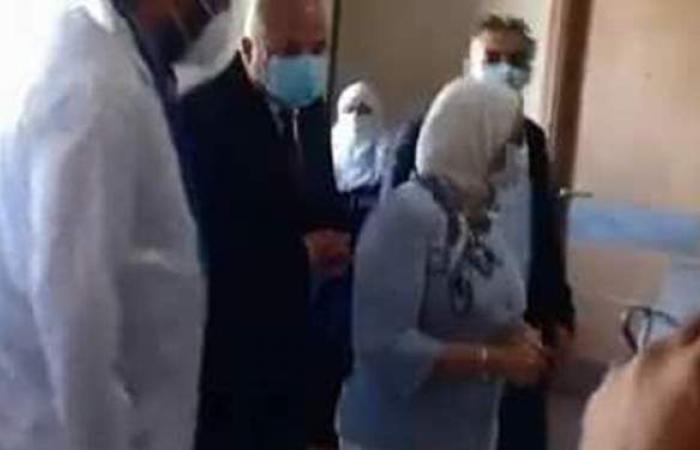 وزيرة الصحة تتفقد مستشفى قفط التعليمي للعزل الصحي