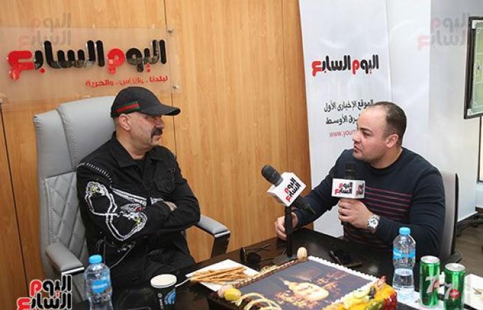 """""""اليوم السابع"""" يٌكرم النجم محمد سعد عن مشواره الفنى"""