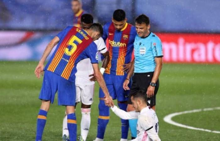 الإصابات تفسد فرحة ريال مدريد بالكلاسيكو.. وتقلق زيدان أمام ليفربول