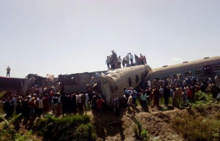 مصر تعلن نتائج التحقيقات في حادث تصادم قطاري سوهاج... فيديو