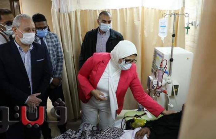 محافظ الأقصر يشكر وزيرة الصحة على إدارة المنظومة وتطويرها | صور