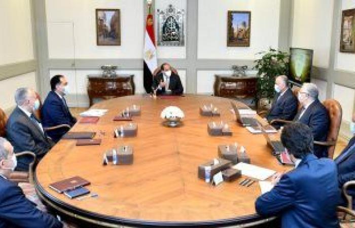 أخبار مصر.. الرئيس السيسى يوجه بتكامل تطوير نظم الرى الحديث مع مشروعات الدولة