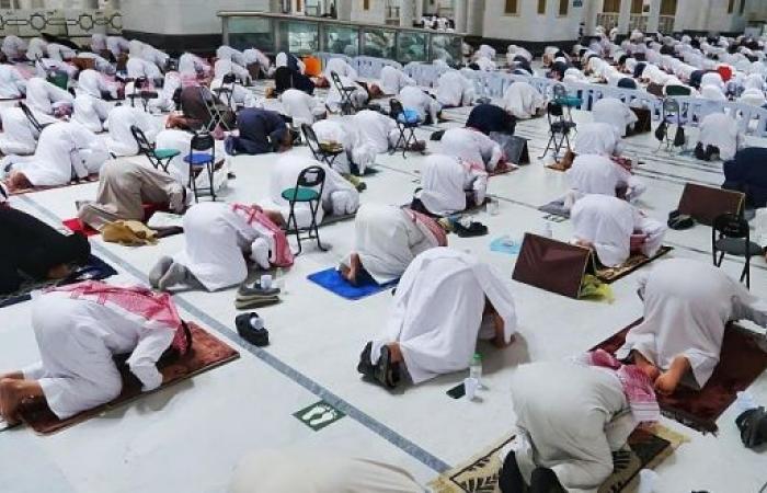 مشاهد من أول ليالي رمضان 1442 في المسجد الحرام