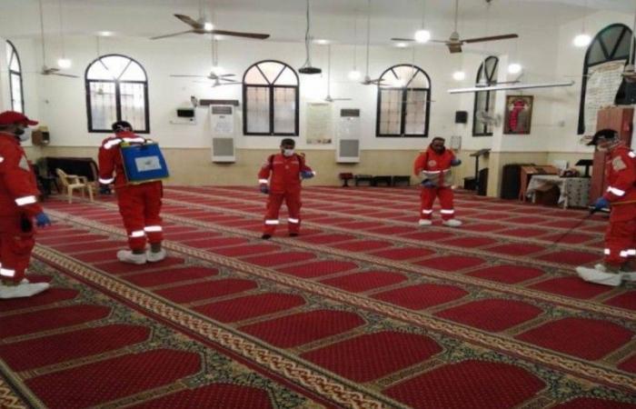 إغلاق 11 مسجداً في 6 مناطق