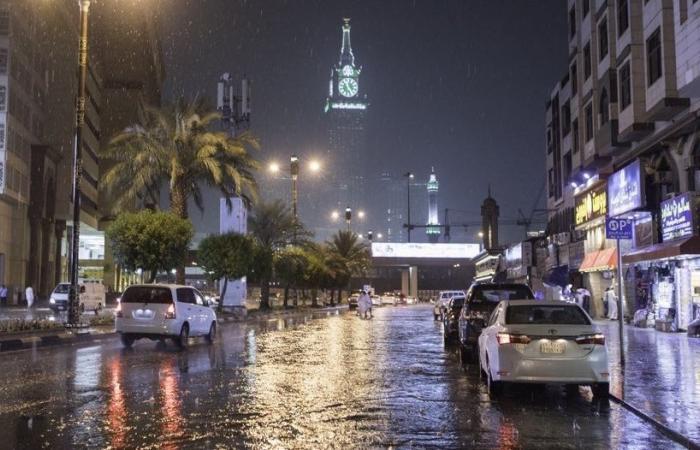 توقعات بأمطار وبرد من الجمعة إلى الاثنين على 5 مناطق