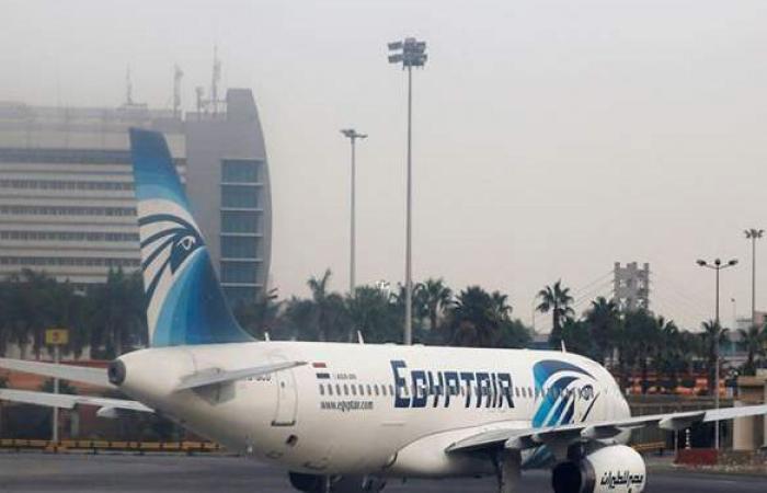 مصر للطيران تنقل 5 آلاف و100 راكب على متن 57 رحلة غدا