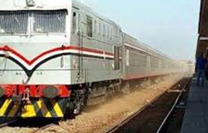 عودة الحركة على خط أبوقير بعد حادث تصادم قطار وسيارة ملاكي
