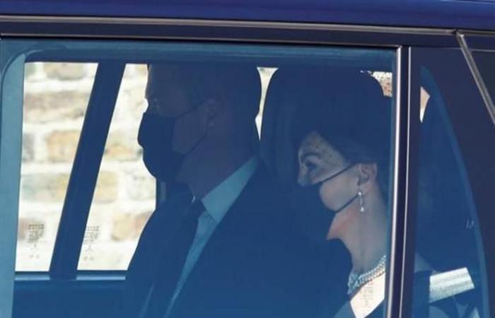 جنازة الأمير فيليب: دوق ودوقة كامبريدج يصلان إلى قلعة وندسو