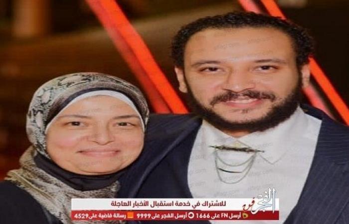 بهذه الكلمات نعت مي كساب وفاة والدة أحمد صالح