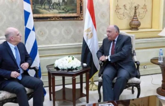 وزيرا خارجية مصر واليونان يناقشان الأوضاع في شرق المتوسط