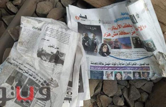 رامز جلال وكريم عبد العزيز حاضران غائبان في حادث قطار طوخ |صور