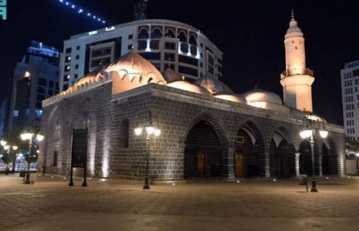 مسجد الغمامة الذي صلى فيه الرسول على النجاشي
