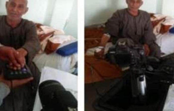 الشرطة تستخرج بطاقة شخصية لمسن محجوز بمستشفى في كفر الشيخ